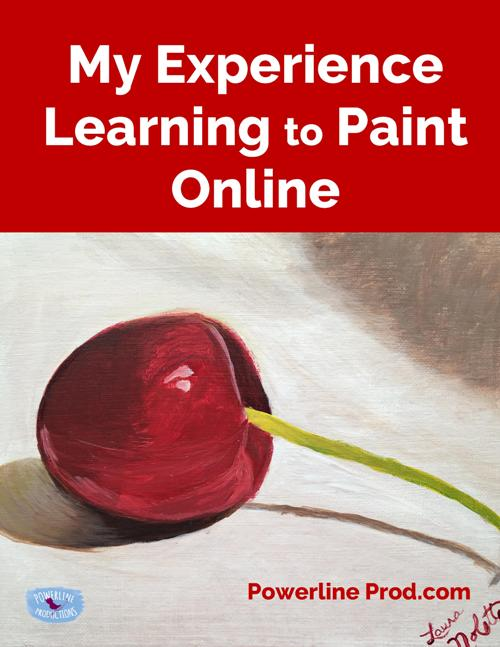My Experience Learning to Paint Online